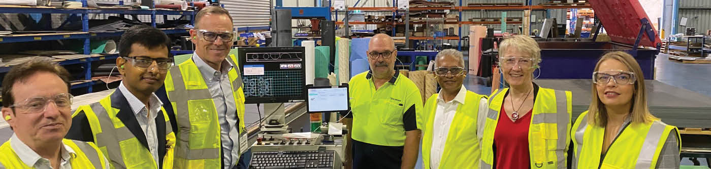 KLINGER Australia Industry 4.0 IIoT technology visit by AMGC