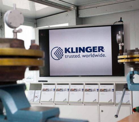 KLINGER product training presentation