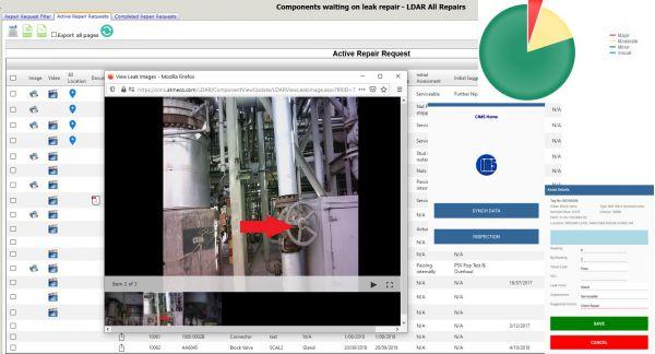 CIMS database screenshot
