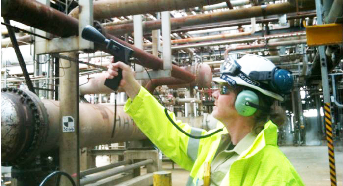 Compressed air emissions survey conducted