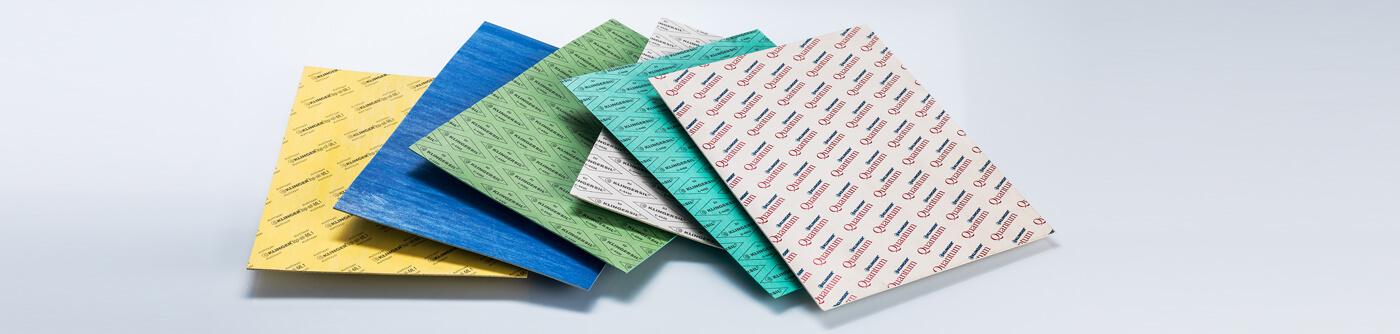 KLINGER compressed fibre range of gasket material