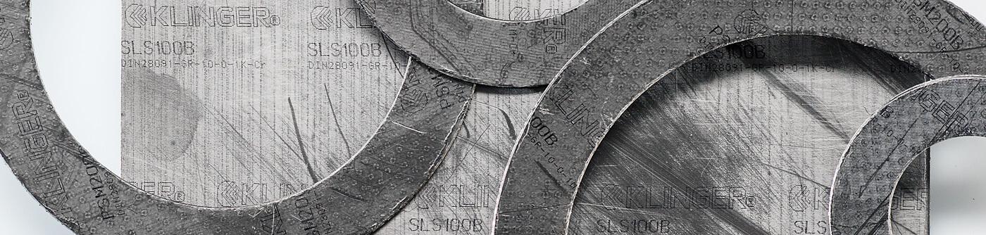 KLINGER graphite laminate top image banner