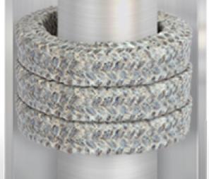 Natural fibre compression packing