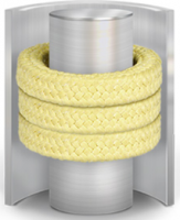 Synthetic Fibre compression packing