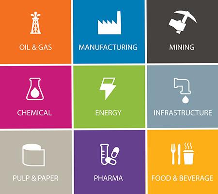 KLINGER range of industries serviced