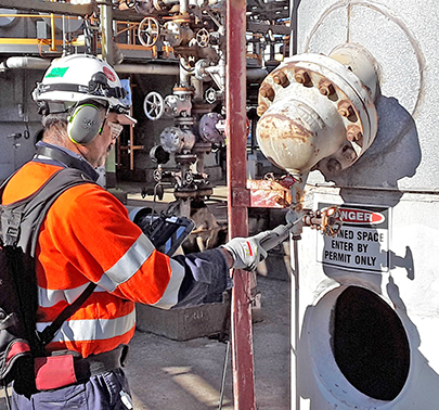 LDAR Leak Detection and Repair FID technology