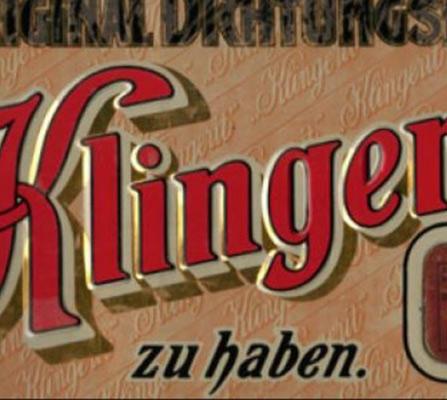 KLINGER historical poster